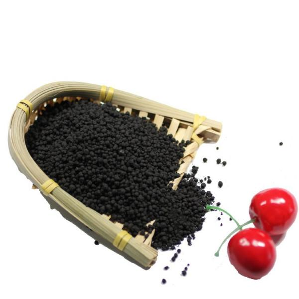 Shiny Balls/granules Amino Acid Humic Acid npk Organic Fertilizer purple granular